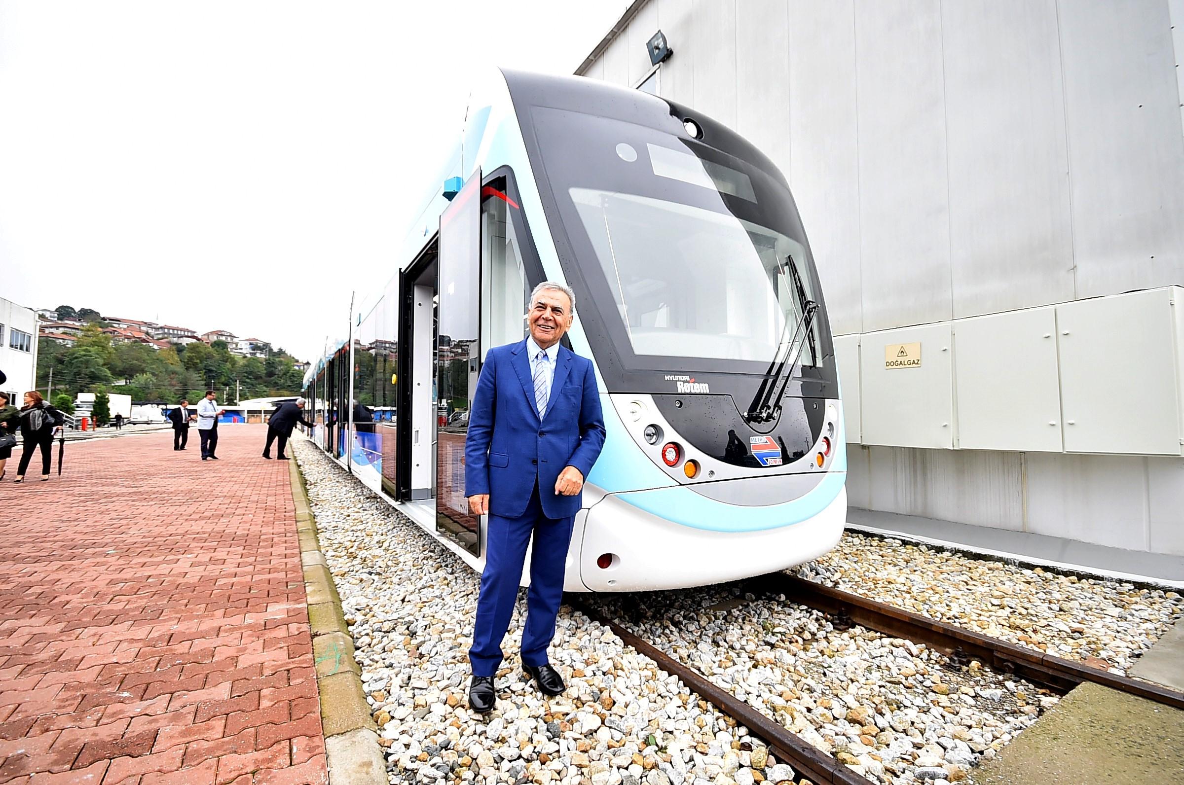 Konak'ta tramvaylı günler